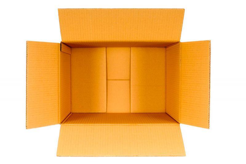 Caixas de papelão usadas sp