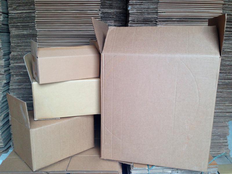 Caixa para embalagem correios