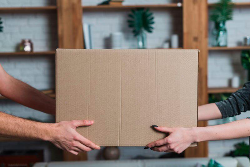 Caixas de papelão para mudança sp