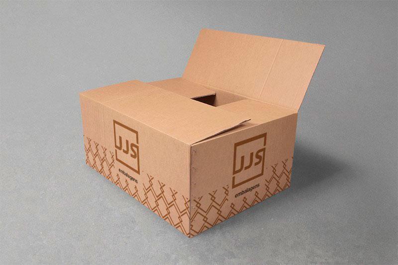 Caixas usadas